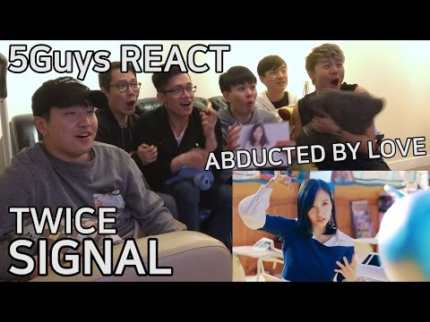 Thumbnail: [TRASH FANBOYS] TWICE - SIGNAL (5Guys MV REACT)