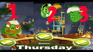 Beat The Daily Challenge King Pig Panic Completed in Angry Birds 2 Thursday 2