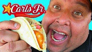 Carl's Jr.® Beer-Battered Fish Tacos Review!