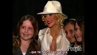 "Christina Aguilera - Entrevista People Backstage ""Back To Basics Tour"" (Subtítulos español)"