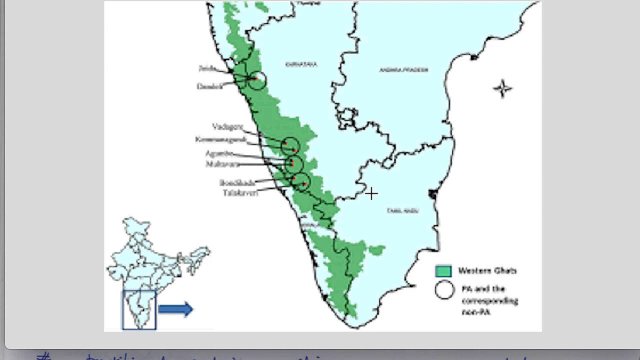 Pdf western kasturirangan ghats on report