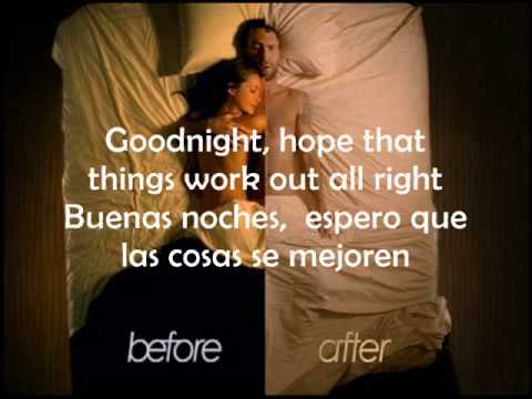Maroon 5 Goodnight Goodnight Subtitulado Español