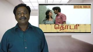 Thodari Review Dhanush Tamil Talkies