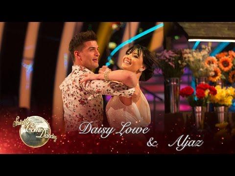 Daisy Lowe and Aljaz Skorjanec Viennese Waltz to 'Daisy Bell' by Harry Dacre  Strictly 2016: Week 7