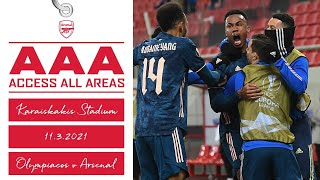 ACCESS ALL AREAS | Olympiacos 1-3 Arsenal | Europa League | Round Of 16