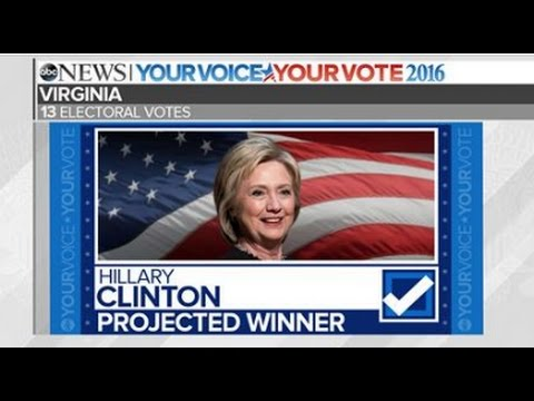 Hillary Clinton Wins Virginia   2016 Election Results