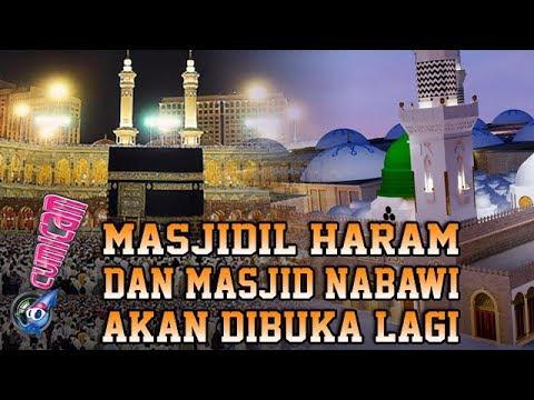 Masjidil Haram dan Masjid Nabawi Akan Dibuka Lagi, Begini Reaksi Selebriti - Cumicam 01 Mei 2020 - 동영상