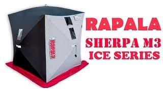 RAPALA SHERPA M3 ICE SERIES! НАМЕТ ДЛЯ ЗИМОВОЇ РИБОЛОВЛІ!!! УСТАНОВКА І ОГЛЯД!