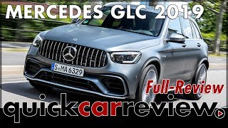 2019 Mercedes-AMG GLC 63 4matic + - Test drive Mercedes GLC AMG Facelift | Full Review