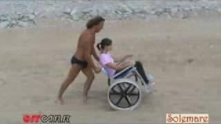 OFFCARR - Solemare - carrozzina da spiaggia