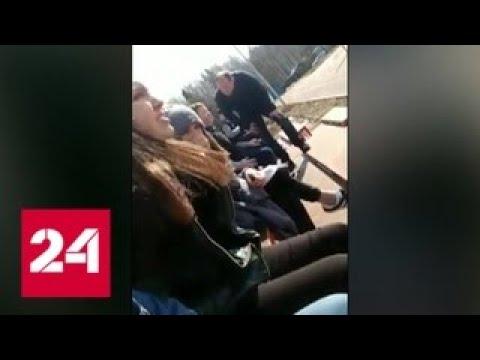 """Пощечина, которой """"не было"""": депутат показал, как работает с молодежью - Россия 24"""