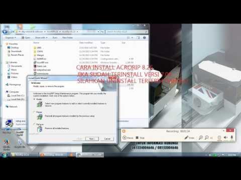 Cara Install Acrorip 8 26 Printer DTG
