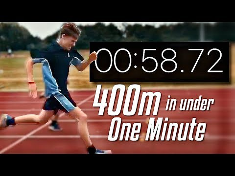 400 Meters in Under 1 Minute (My Experience With The 400m Race)
