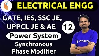 9:00 PM - GATE, IES, SSC JE 2019 | Electrical Engg. by Ashish Sir | Synchronous Phase Modifier