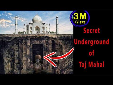 Secret UNDERGROUND Zone of Taj Mahal - What's inside?