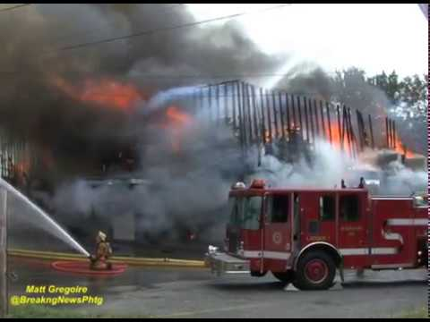Blackstone, Ma business destroyed in fast moving inferno