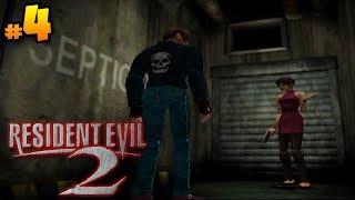 Resident Evil 2「Leon - A」• Walkthrough Playthrough (Full Game) • Cap. 4