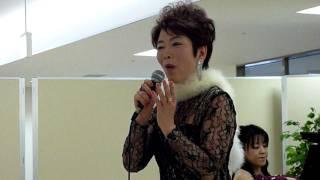 シャンソン、瀬川澄、ピアノは鈴木理恵さん(ワタナベ楽器ピアノ講師)...