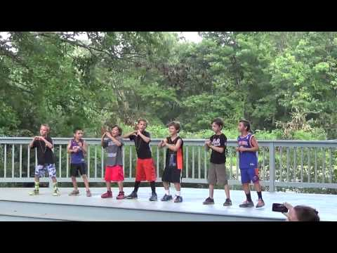 Lewisboro Day Camp 3/4 Variety Show 8/4/14
