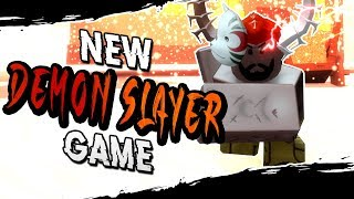 Becoming a DEMON in The New Demon Slayer Game | Roblox Demon Slayer | iBeMaine