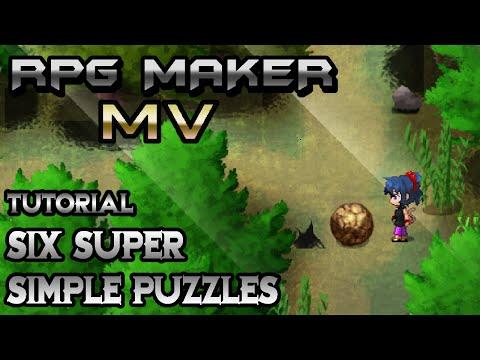 RPG Maker MV Tutorial: Super Simple Puzzles!