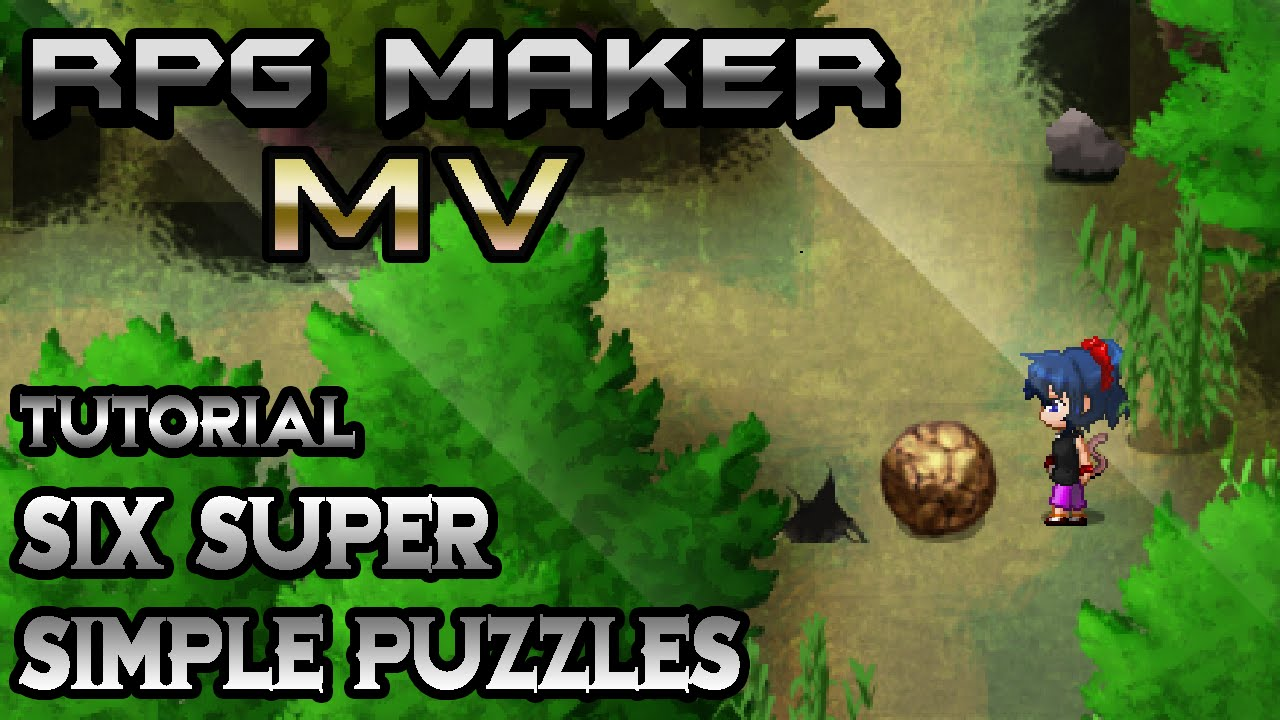 RPG Maker MV Tutorial: Super Simple Puzzles!