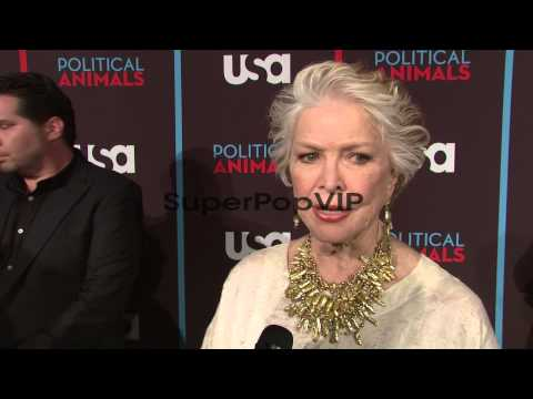 INTERVIEW: Ellen Burstyn on her character in the show. On...
