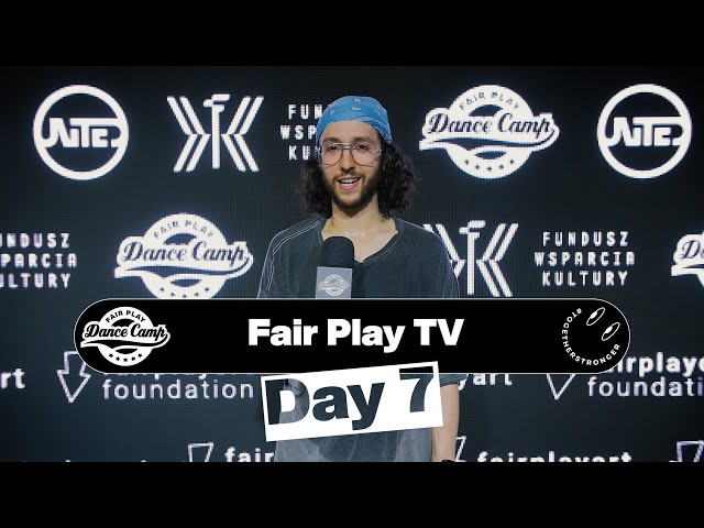 Fair Play Dance Camp 2021 | Day 7 [FAIR PLAY TV]