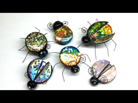 Polymer clay(Fimo) Jewel Bugs - Tutorial