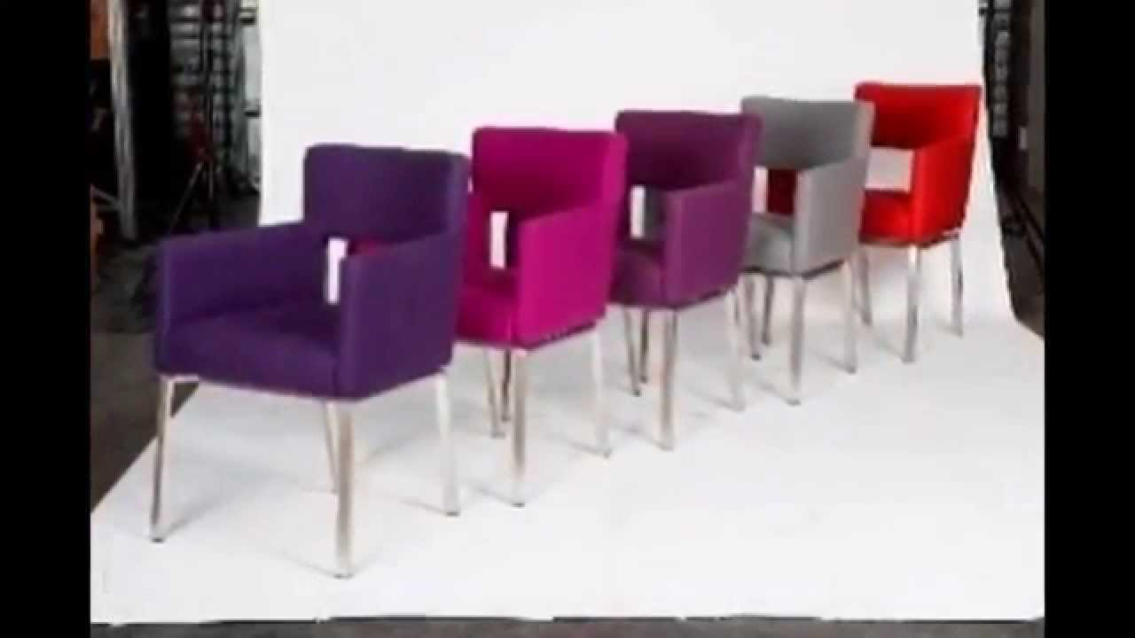 eetkamerstoelen outlet - YouTube