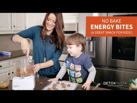 No Bake Energy Bites (A great snack for kids!)