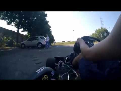 Go Kart A Marce (kz Tm 125 Cc): Tony Kart Con Tm K7, Rozzano 1 Luglio 2015