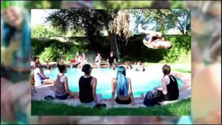 Pool + BBQ + Modelos + Ramp + Friends + Headbands = Yep