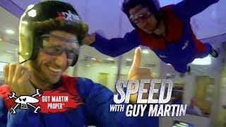 Guy's Indoor Skydiving Training | Guy Martin Proper