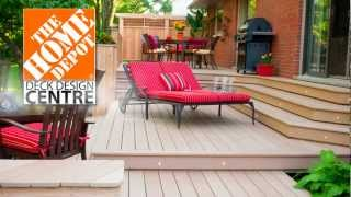 """home Depot Deck Design Centre"" Digital Signage."