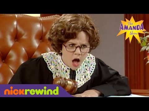 Judge Trudy | The Amanda Show | NickSplat