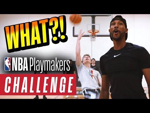 Trickshot Challenge | BigDawsTV, Shot Mechanics, Marcelas Howard | NBA Playmakers