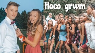get ready w/ me for homecoming! (freshman year)