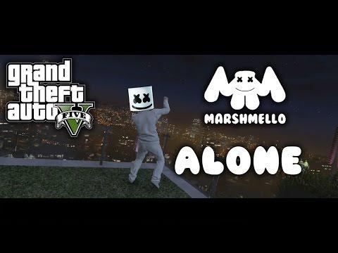 GTA 5 | Marshmello - Alone [Music Video]