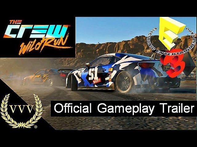 The Crew Wild Run Trailer E3 2015