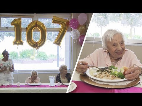 How This New York Woman Celebrated Her 107th Birthday