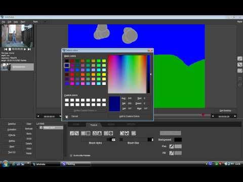 Jahshaka (Cinefx) Introduction - Text And Paint Modules