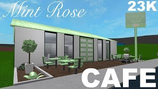 Roblox Bloxburg: Mint Rose Cafe 23K | Jessie Qualle