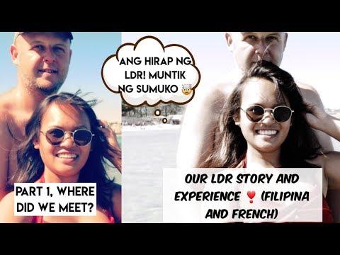 LDR RELATIONSHIP: HOW DID WE MEET   Filipina Foreigner HUSBAND   Online Dating Site 1
