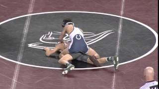 Wrestling Championship semifinals, 106lbs: Pat Glory beats Richard Koehler
