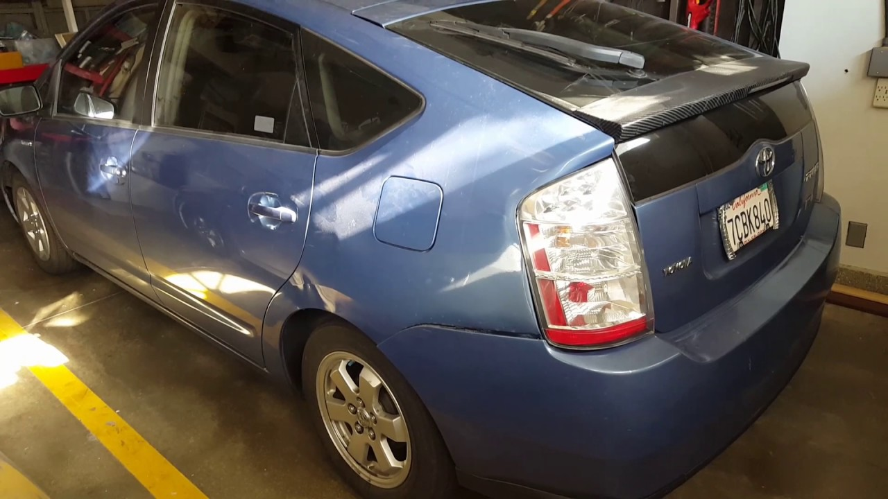 2008 Prius Battery >> Where Is The 12 Volt Battery Toyota Prius 2008 Auxiliary Battery