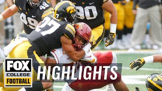 Iowa vs Iowa State | FOX COLLEGE FOOTBALL HIGHLIGHTS