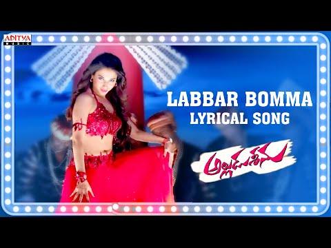 Tamanna Item Song - Labbar Bomma Full Song With Lyrics - Alludu Seenu Songs