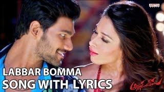 Tamanna Item Song - Labbar Bomma Full Song With Lyrics - Alludu Seenu Songs