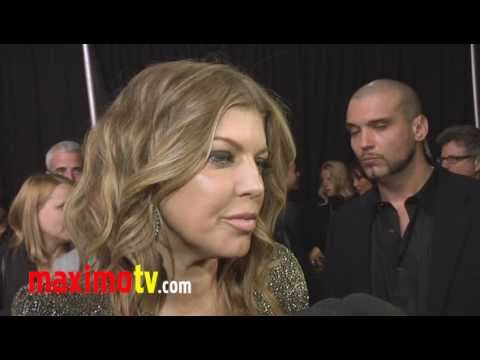 "Fergie and The Black Eyed Peas Interview 2011 ""Peapod"" Red Carpet"
